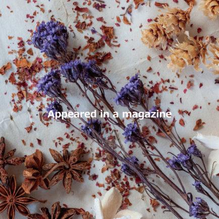装飾施工事例が商業誌に掲載されました